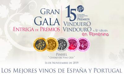Os melhores vinhos de Portugal e Espanha têm encontro marcado na XV Gala de Prémios VinDuero-VinDouro